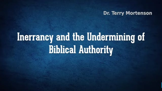 Inerrancy & The Undermining of Biblic...