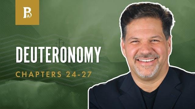 Motivation for Offerings; Deuteronomy...
