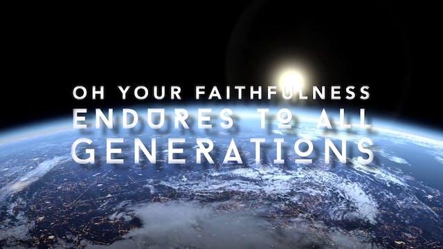 Forever Faithful (Psalm 119:89-90)