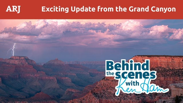 Science Confirms the Bible Again in Ground-Breaking Grand Canyon Research