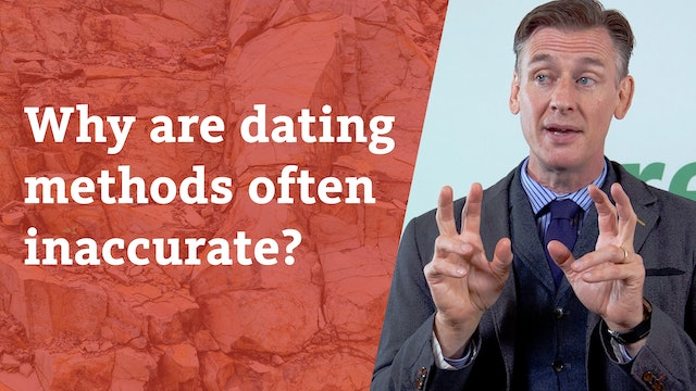 Why are dating methods often inaccurate?