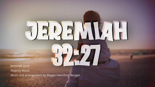 Jeremiah 32:27