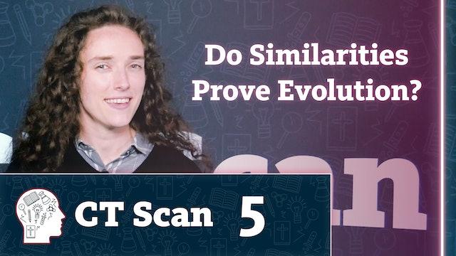 Do Similarities Prove Evolution?