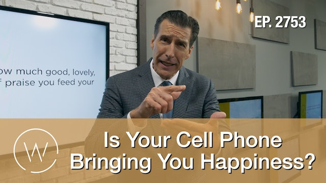 Is Your Cell Phone Bringing You Happiness?