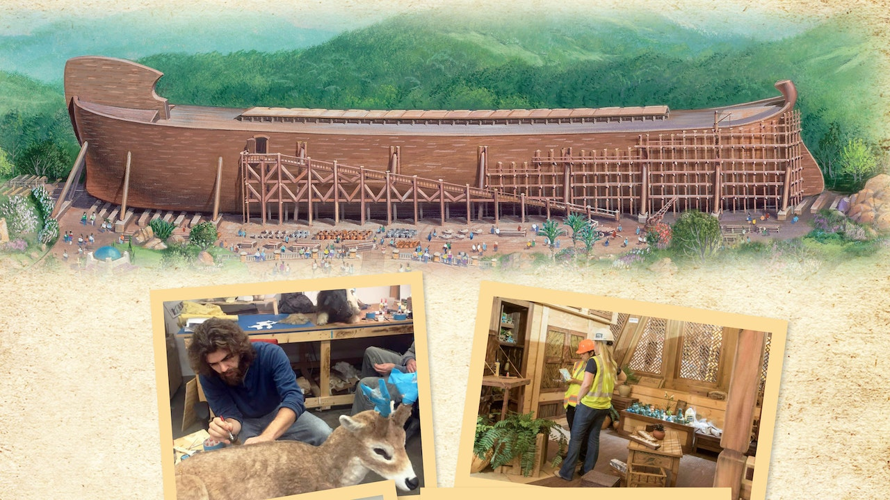 Building the Exhibits of the Ark Encounter