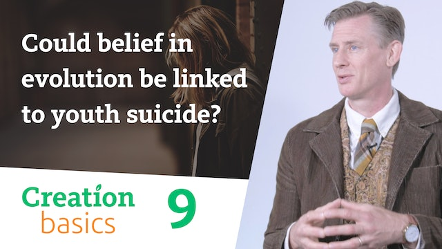 Could belief in evolution be linked to youth suicide?