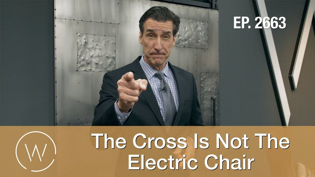 The Cross is not the Electric Chair
