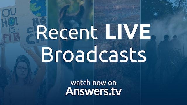 Recent LIVE Broadcasts