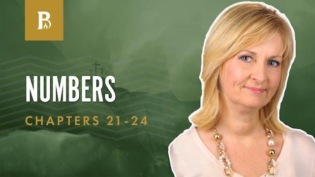 Balaam Prophecies; Numbers 21-24