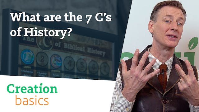 What are the 7 C's of History?