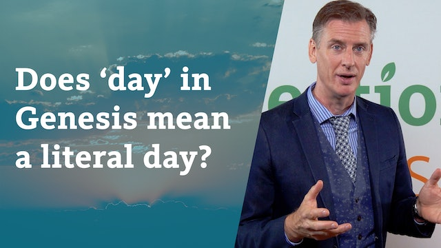 Does 'day' in Genesis mean a literal day?