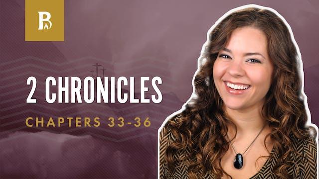 From Hezekiah to Josiah; 2 Chronicles...