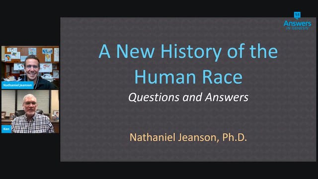 Q&A Part 2 with Dr. Nathaniel Jeanson...