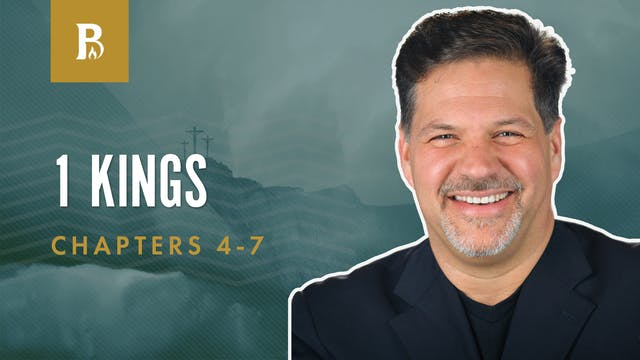 Building Details; 1 Kings 4-7