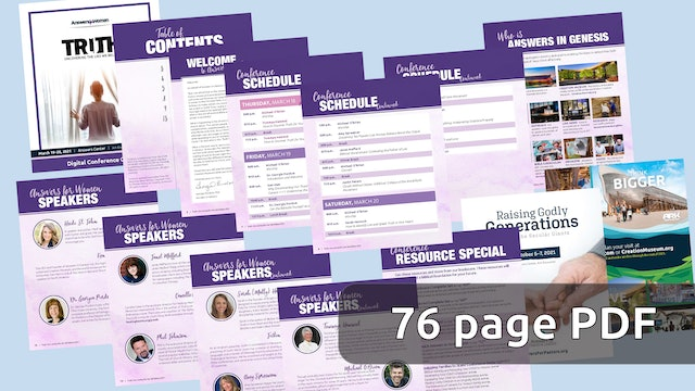 Answers for Women 2021 Conference Guide (pdf)