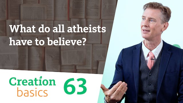 What do all atheists have to believe?