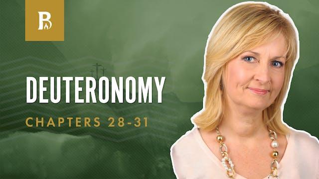 Obeying God; Deuteronomy 28-31