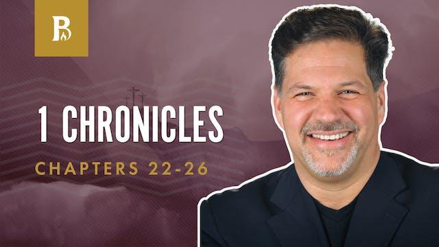 Choices; 1 Chronicles 22-26