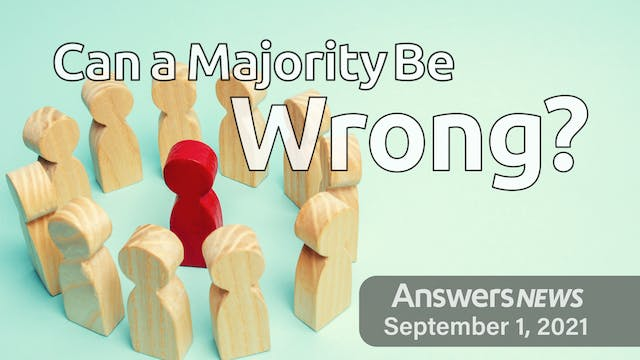 9/01 Can a Majority Be Wrong?