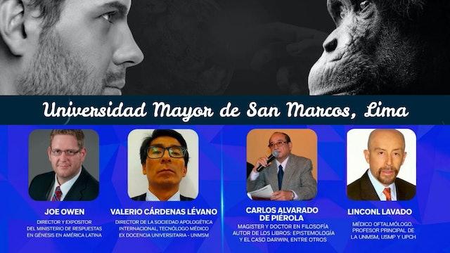 Debate sobre orígenes en la Universidad Nacional Mayor de San Marcos, Lima
