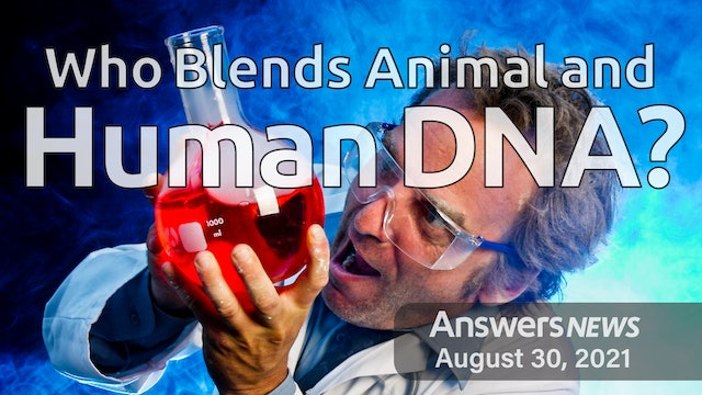 8/30 Who Blends Animal and Human DNA?