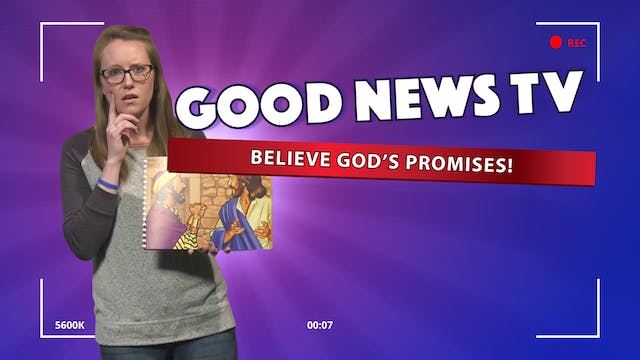 Believe God's Promises!