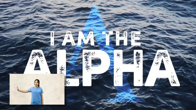 The Alpha and Omega (Revelation 1:8) Picture