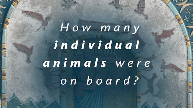 How many individual animals were on board?