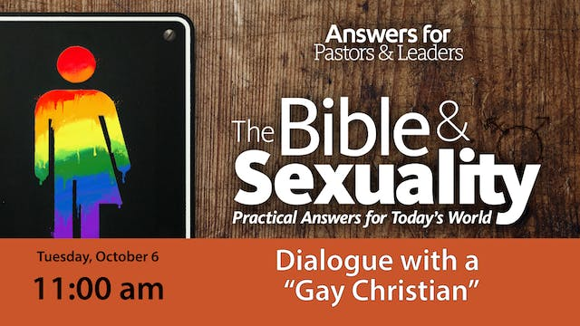 "Dialogue with a ""Gay Christian"""