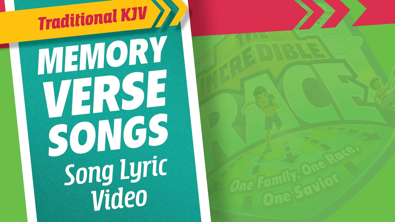 The Incredible Race Traditional Memory Verse Songs