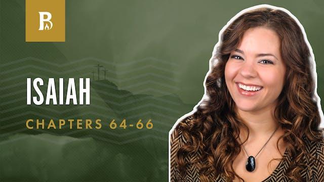 Tremble at His Word; Isaiah 64-66