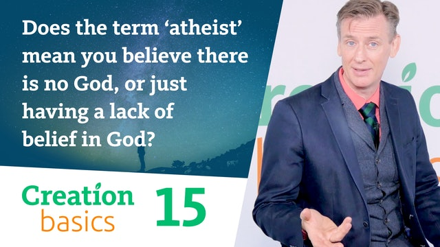 Term 'atheist' - mean you believe there is no God, or a lack of belief in God?