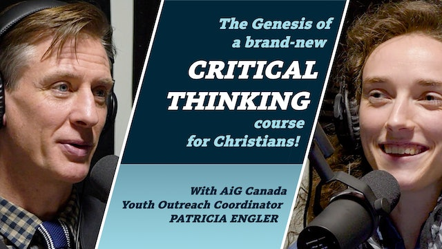 The Genesis of a brand-new Critical Thinking course for Christians!