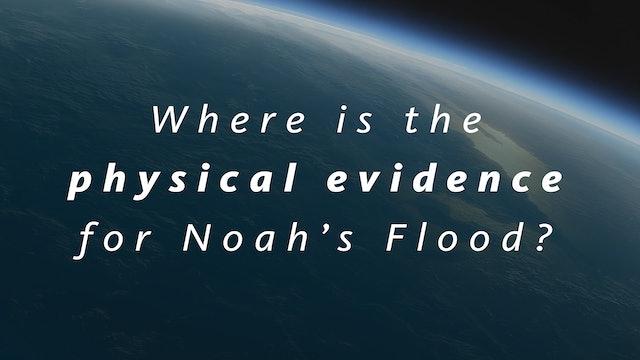 Where is the physical evidence for Noah's Flood?