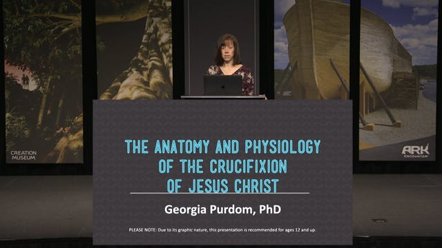 Anatomy and Physiology of the Crucifi...