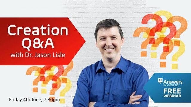 Creation Q&A with Dr. Jason Lisle