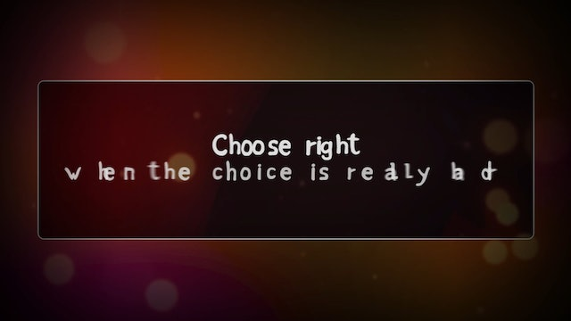 Choose Right