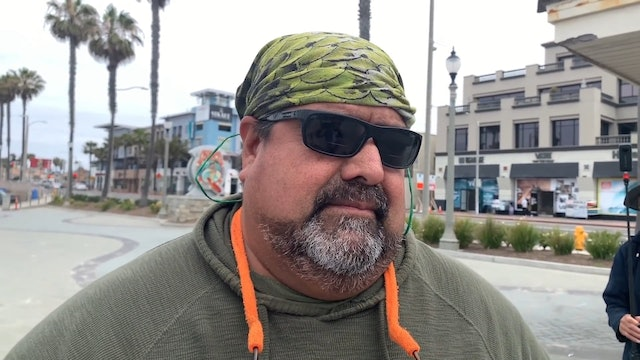 Church Biker Group Wants Him to Stop the Interview...