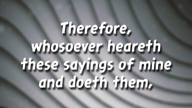 Matthew 7:24