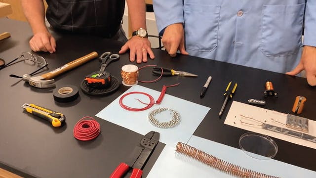 Hands On: Build Your Own Electromagnet