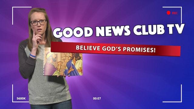 Believe God's Promises!