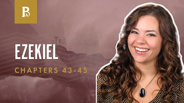 What is True Peace?; Ezekiel 43-45