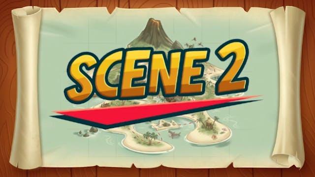 Mystery Island Drama: Scene 2