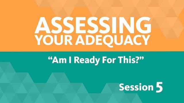 Session 5 - Assessment
