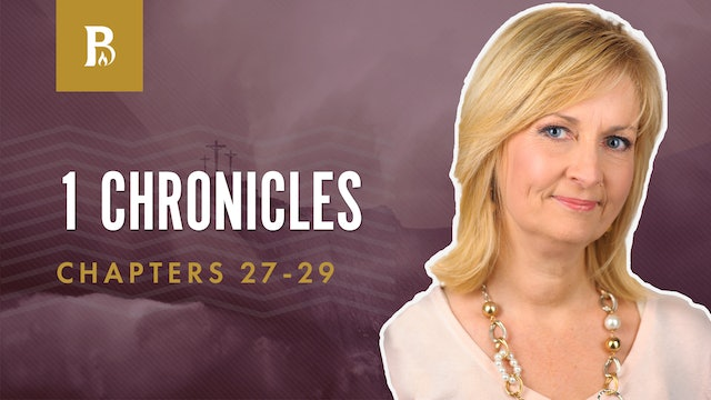 Commands of God; 1 Chronicles 27-29
