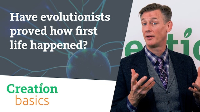 Have evolutionists proved how first life happened?