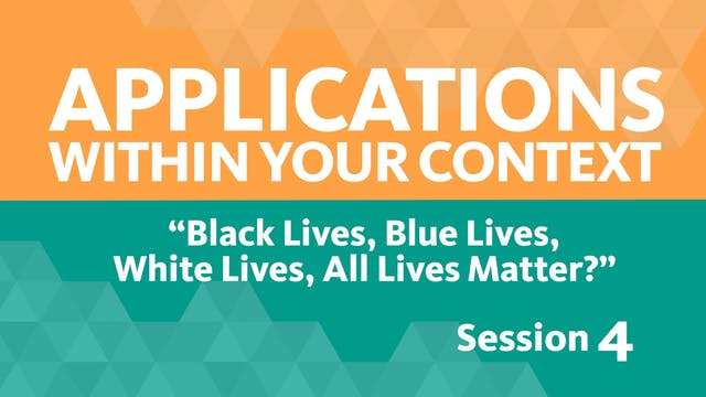 Session 4 - Applications