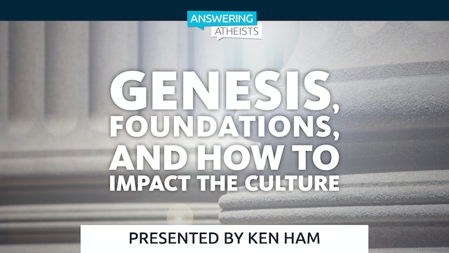 Genesis, Foundations, and How to Impact the Culture
