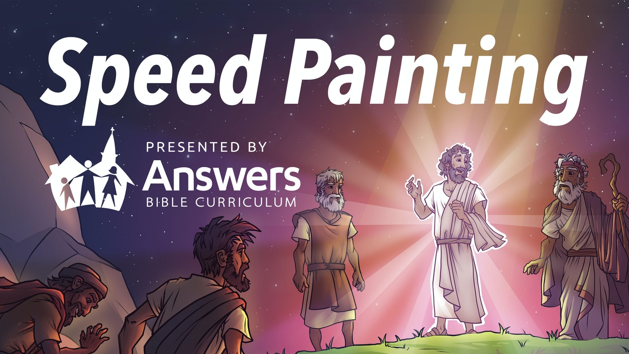 Speed Painting Bible Lessons