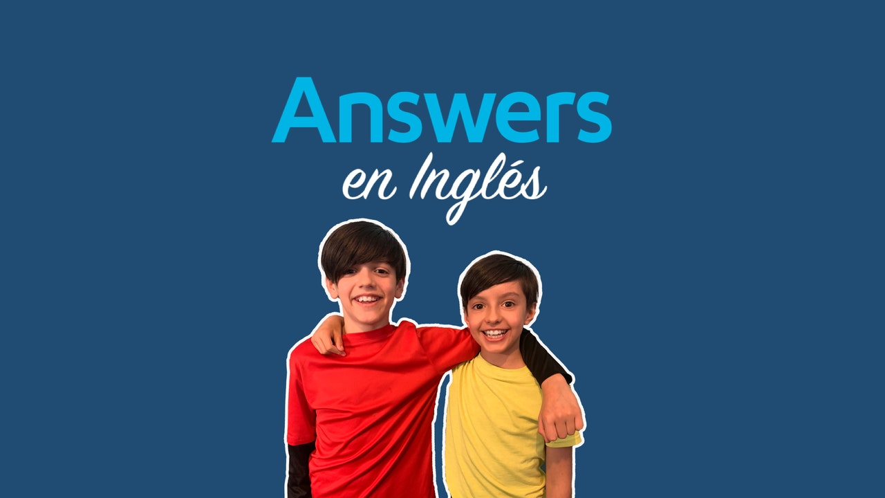 Answers in English & Spanish